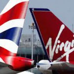 Virgin Airlines конкурирует с British Airlines