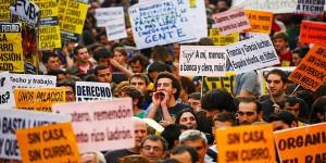 Общенациональная забастовка в Испании