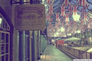 Снижение туристического потока в Великобритании