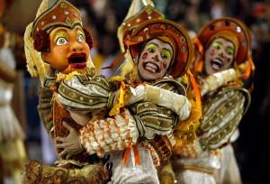Традиционный карнавал в Сальвадоре