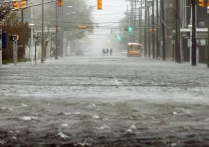 Ураган Сэнди нанес урон игровому центру в Атлантик-Сити