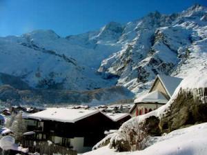 Лучшим горнолыжным курортом Швейцарии назван курорт Саас-Фе