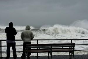 На американский Нью-Йорк вновь обрушился ураган
