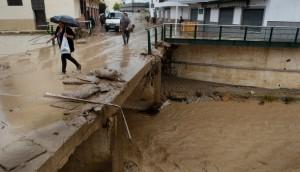 Наводнения на юге Испании