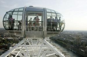 Смотровая площадка на вершине Лондонского небоскреба