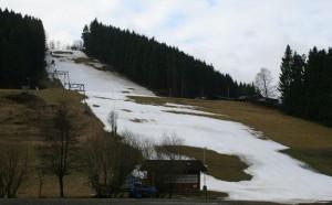 Горнолыжный сезон в Германии подпорчен плюсовыми температурами