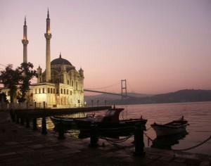 Туристическая зона в центр Стамбула