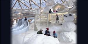 В Эйлате открылся Ледовый парк