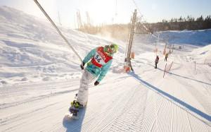 В Санкт-Петербурге появились бесплатные катки и лыжные трассы