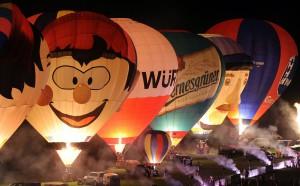 Фестиваль воздушных шаров в Германии