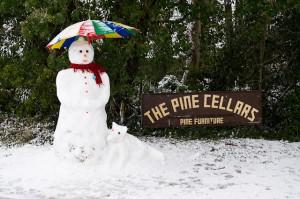 Власти Великобритании призывают своих граждан лепить снеговиков