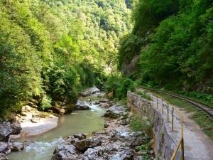 Живописное Гуамское ущелье снова открыто для туристов