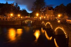 Каналы в Амстердаме отмечают свой юбилей