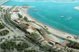 Новый пляж появился в арабском эмирате Абу-Даби
