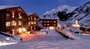 Определен самый дорогой горнолыжный отель в мире