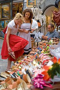 Шопинг в Италии становится все более популярным