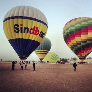 В Египте запретили полеты на популярных воздушных шарах