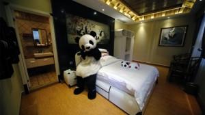 В Китае появится отель, посвященный пандам