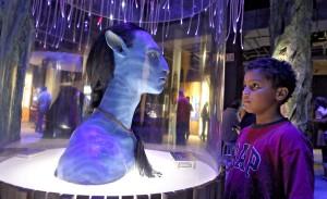 В пригороде Нью-Йорка проходит выставка, посвященная героям фильма «Аватар»