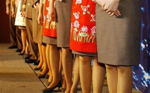 Южнокорейская авиакомпания отменила дресс-код для стюардесс