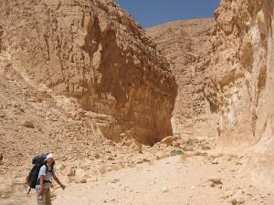 Путешественник из России решил пройти в одиночку Тропу Израиля