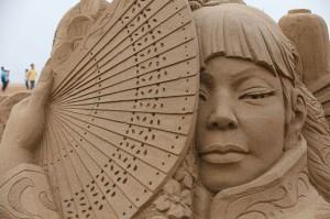В Брайтоне открылась уникальная выставка песчаных скульптур