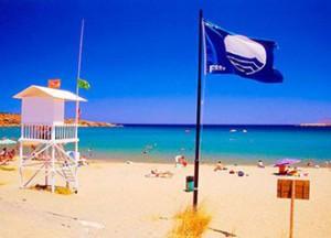 В Испании находится самое большое количество пляжей, награжденных Голубым флагом