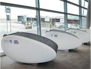В крупнейшем аэропорту мира Абу-Даби появились уникальные капсулы для сна