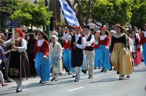 Национальный праздник в Греции