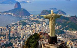Christ The Redeemer Statue Rio de Janeiro Brazil wide wallpapers